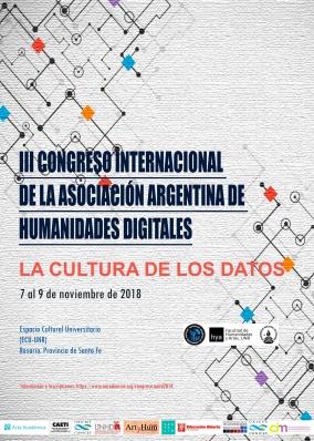 Leer más:Congreso Internacional: Humanidades Digitales