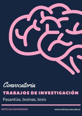 Leer más:Convocatoria para tesis en neurociencias