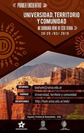 Leer más:1º Encuentro: Universidad Territorio y Comunidad