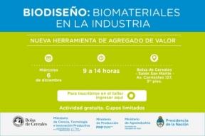 Leer más:Taller: Biomateriales en la industria