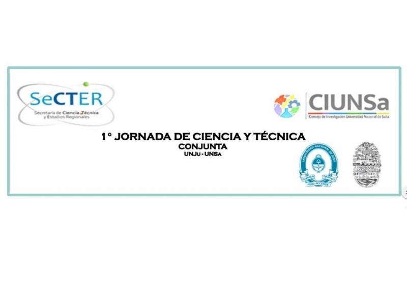 1 Jornada de ciencia y tecnica
